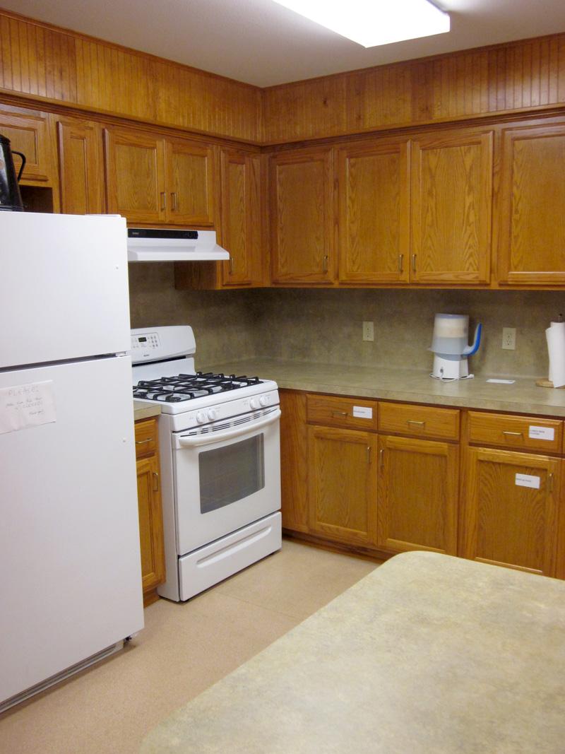Fellowship Hall - Kitchen